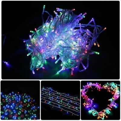 100M 500LED Multi-Colour Fairy Outdoor Party Christmas Decorative String Lights