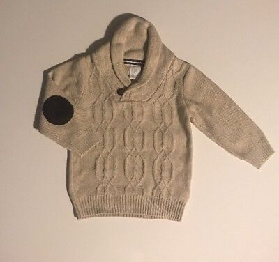 New H&M Infant Boy Sweater  12-18 Months  Cotton Wool Christmas