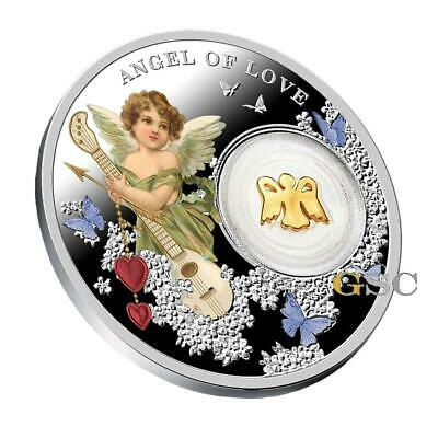 Angel of Love silver coin Angels series .999 fine silver Niue Island 2017