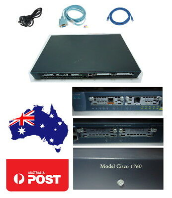CISCO 1760 Router CISCO 1700 Series CCNA CCNP CCIE Lab