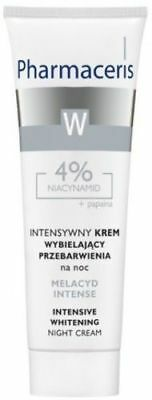 Pharmaceris Melacyd Whitening Night Face Cream Krem Wybielajacy Twarz 30ml