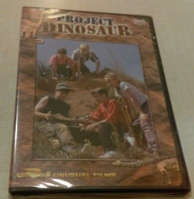 Project Dinosaur DVD Video Unusual Films Bob Jones University BJU New Sealed