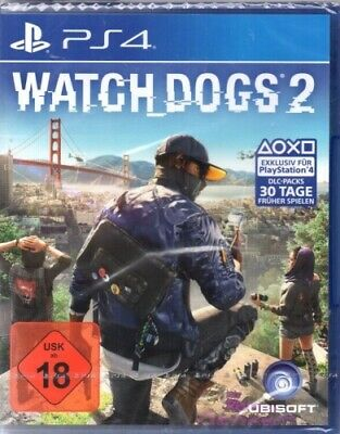 Watch Dogs 2 - Playstation PS4 - deutsch - Neu / OVP