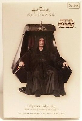 Mib 2008 Hallmark Ornament Star Wars Return Of The Jedi Emperor Palpatine
