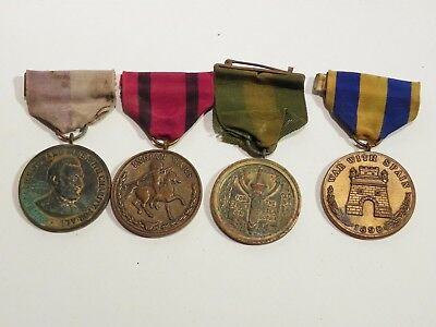 Group of Four Vintage American Civil War Related Medals