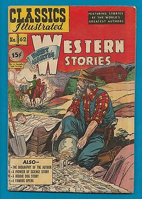 Classics Illustrated Comic 1949 Western Stories.  early version   #871