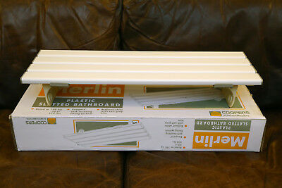 """Coopers Merlin Slatted Bathboard 26"""" 660mm (10164C) Max 190kg / 30st / 140lbs"""