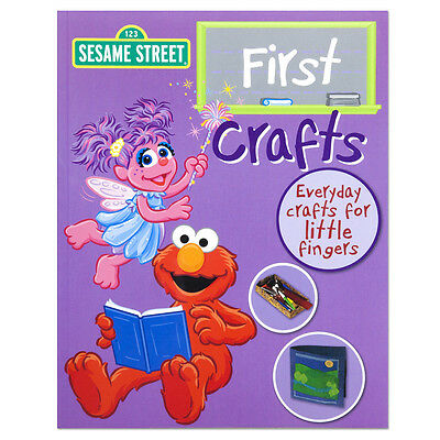 Sesame Street First Crafts Everday Crafts For Little Fingers Easy to Make NEW