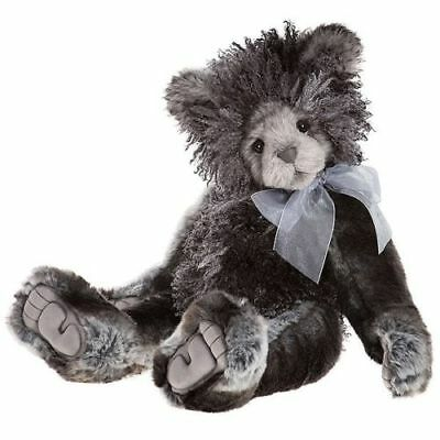 CHARLIE BEARS - SCRABBLE PLUMO BEAR brand new 2017 collection limited edition