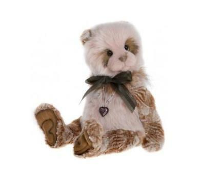 CHARLIE BEARS - SANDIE Brand New 2017 Plush Collection Jointed Collectable Bear