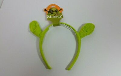 SHREK 2 OGRE EARS HEADBAND ACCESSORY FOR  COSTUME DreamWorks NWT 2004 x