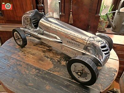 A Bb Korn Vintage Racing Car Replica, Tether Racer, Authentic Models, Incredible
