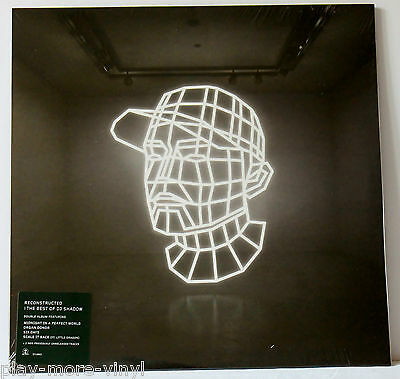 DJ SHADOW Reconstructed The Best Of 2LP vinyl 2012 Island Mint/Sealed!