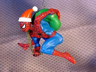 Spiderman Christmas.Marvel Spiderman Christmas Tree Ornament Made Of Resin Approx 4 Excel Cond