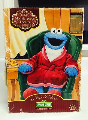 Vintage Monsterpiece Theater Alistair Sesame Street Limited Edition