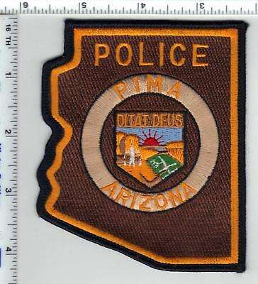 Pima Police (Arizona) Shoulder Patch from the 1980's