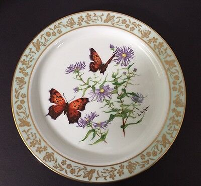 Lenox Porcelain Butterflies & Flowers Collectors Plate Limited Ed. 1st In Series