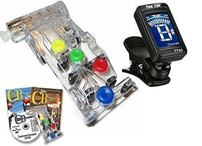 Chord Buddy Guitar Learning System with Clip-on Chromatic Tuner. ChordBuddy