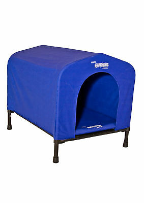 Houndhouse Kennel Small Blue Hygienic Comfortable Strong Portable