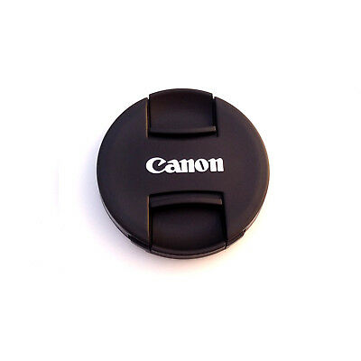 2 Pcs Canon Len Cap 49 52 58 62 67 72 77 mm Snap On Replacement Lens Cap