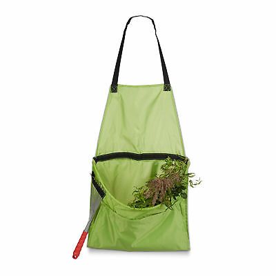 Garden Apron for Weeding and Harvesting, Easy to Empty, Gardening Tool Belt