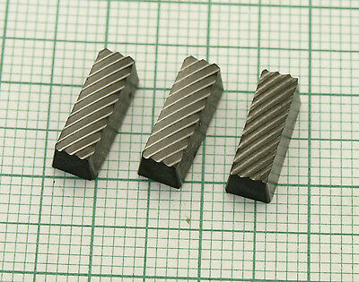 Set of 3pcs. Carbide Replacemet Bits for Valve Seat Cutter set  NEW
