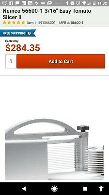 Nemco 56600-1 Easy Restaurant commercial Tomato Slicer