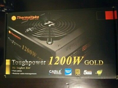 Thermaltake Toughpower 1200w Semi Modular 80 GOLD PLUS PSU