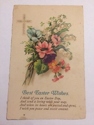 Easter Postcard - Collectable Vintage