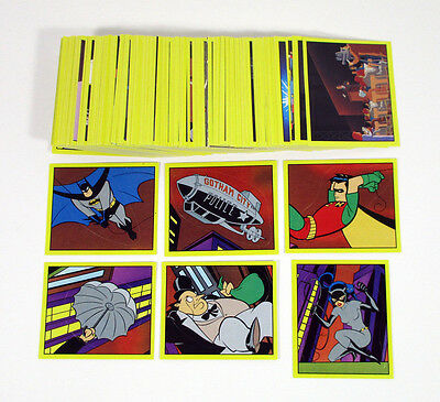 Batman Animated Series 1993 Complete Set 216 Stickers Mint
