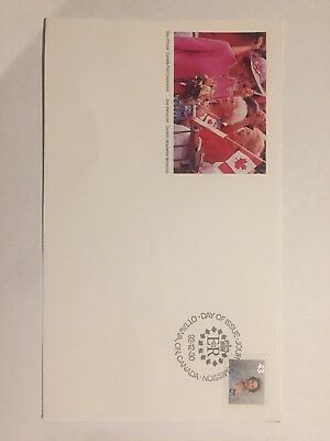 Canada Post First Day Cover FDC, Unaddressed, Excellent Condition