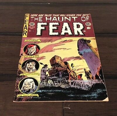 Haunt of Fear #28 - EC Horror! Solid 6.0-7.0+  FINE Copy. Last issue. Scarce