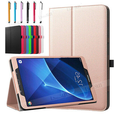 "For Samsung Galaxy Tab A A6 7"" 8"" 10.1"" T580 Tablet PU Leather Stand Cover Case"