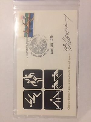 Olympics 1979 USA First Day Cover FDC, Unaddressed, Excellent Condition