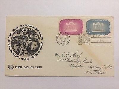 1955 United States First Day Cover FDC