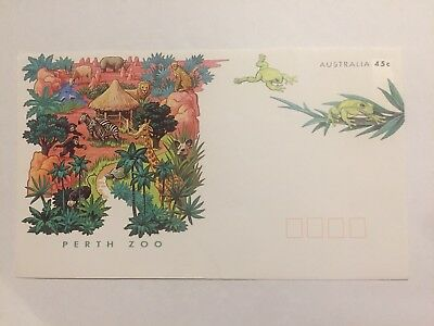 Perth Zoo First Day Cover FDC