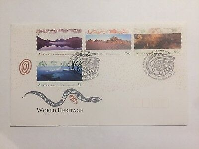 World Heritage Aboriginal Art First Day Cover FDC
