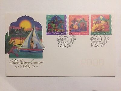 Cocos Festive Season 996 First Day Cover FDC