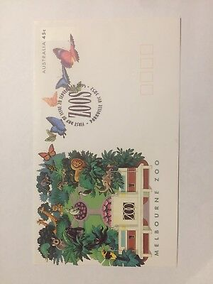Melbourne Zoo First Day Cover FDC