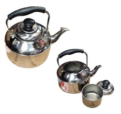 New Stainless Steel Large Teapot Capacity With for kitchen/Dining and Teaware