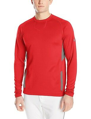 (Large, Team Red) - New Balance Baseball Pullover. Huge Saving