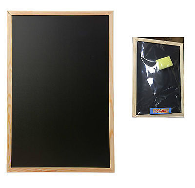 BLACKBOARD CHALKBOARD MENU HOME SCHOOL OFFICE KITCHEN 23x30cm WITH ERASER&CHALK