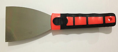 "3"" Inch Carbon Steel Scraper Decorating Paint Remover -Blade Wallpaper Stripper"