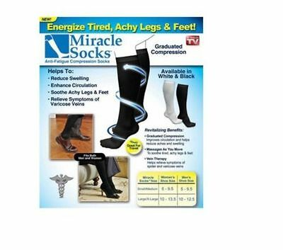 Anti-Fatigue Compression Miracle Socks Relief for Veins Flight Feet Aching