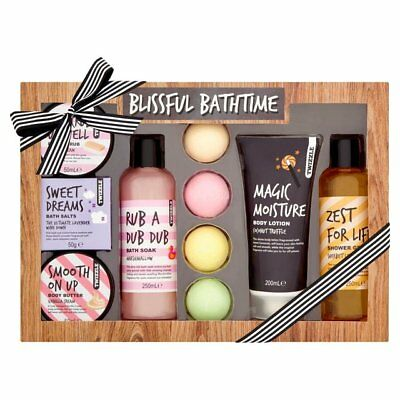 Shop! Twizzle Blissful Bathtime Gift Set~ Body Butter/Lotion/Scrub/Salts/Fizzers
