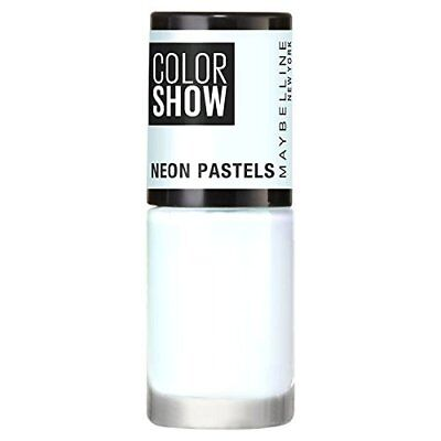 Maybelline Nail Polish   Color Show Neon Pastels   Assorted Colours   7ml