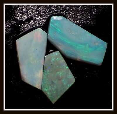 8.45ct Solid GREAT COLOUR Mintabie Opal Rubs