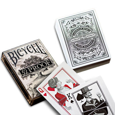 "Bicycle Deck Poker Spielkarten Rider Back ""52 proof"" Edition Playing Cards"