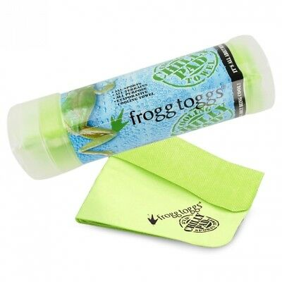 (HiVis Green) - Frogg Toggs The Original Chilly Pad Cooling Towel. Brand New