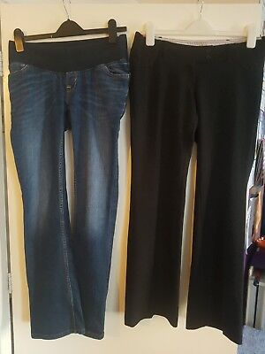 maternity clothes size 8 jeans over bump trousers Next